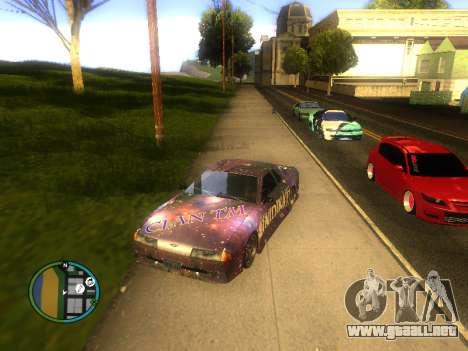 Vinilo para Elegy para GTA San Andreas vista posterior izquierda