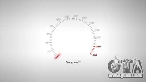 Velocímetro AdamiX v1 para GTA 4