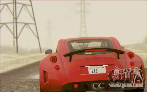 Wiesmann GT MF5 2010 para la visión correcta GTA San Andreas