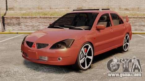 Mitsubishi Lancer Evolution IX 1.6 para GTA 4