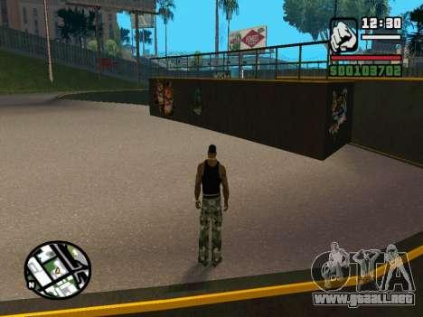 New BMX Park v1.0 para GTA San Andreas sexta pantalla