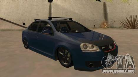 Volkswagen Bora GTI 2011 v1 para GTA San Andreas left