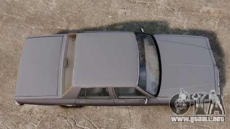 Chevrolet Caprice 1989 para GTA 4 visión correcta