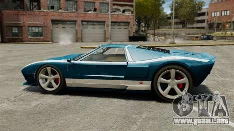 Nuevo Bullet GT para GTA 4 left