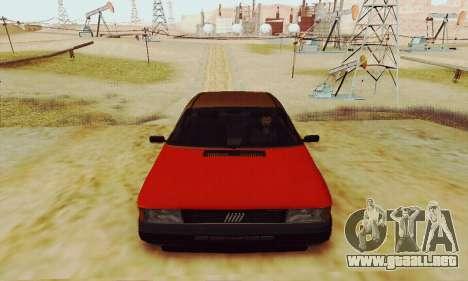 Fiat Duna para GTA San Andreas vista hacia atrás