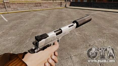 Pistola Colt 1911 para GTA 4 segundos de pantalla