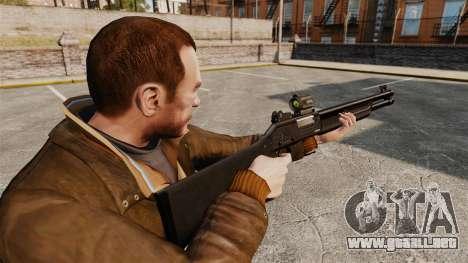 Táctica escopeta Fabarm SDASS fuerzas Pro v2 para GTA 4 segundos de pantalla