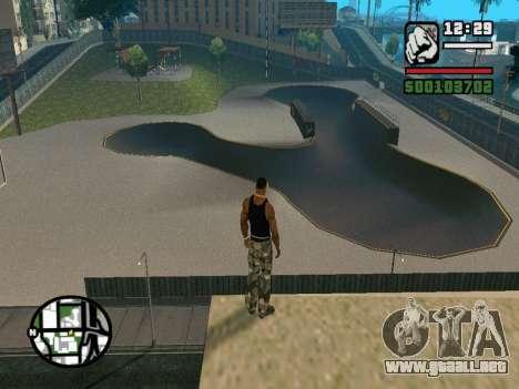 New BMX Park v1.0 para GTA San Andreas