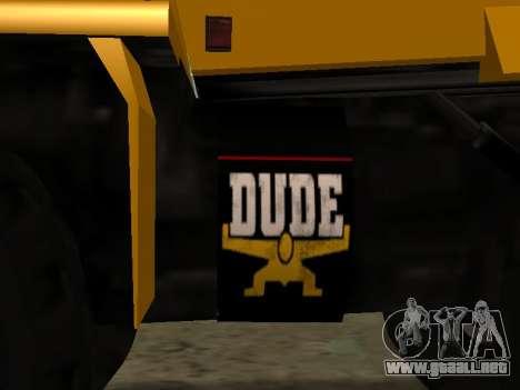 Dumper nuevo para visión interna GTA San Andreas