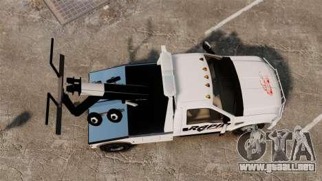 Ford F-550 Towtruck Rapid Towing [ELS] para GTA 4 visión correcta