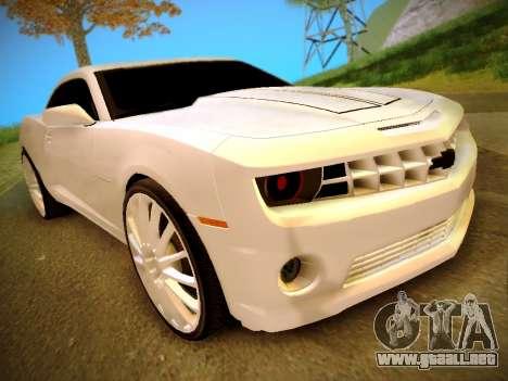 Chevrolet Camaro SS Tuning para GTA San Andreas