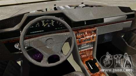 Mercedes-Benz W124 Coupe para GTA 4 vista interior