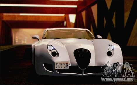 Wiesmann GT MF5 2010 para GTA San Andreas interior