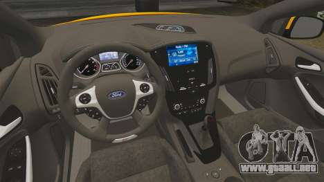 Ford Focus ST 2013 para GTA 4 vista interior