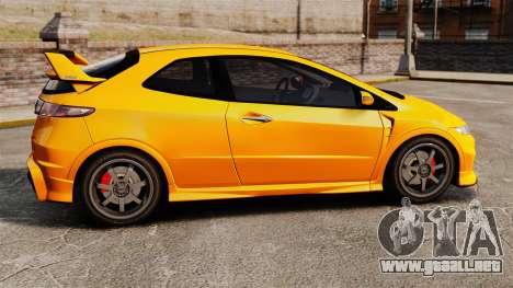 Honda Civic Type-R (FN2) para GTA 4 left