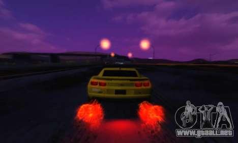 Cool SkyBox para GTA San Andreas tercera pantalla