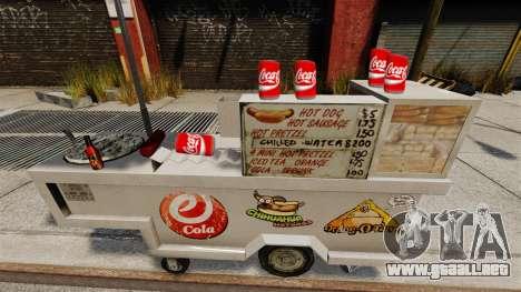 Bebidas gaseosas Coca-Cola para GTA 4