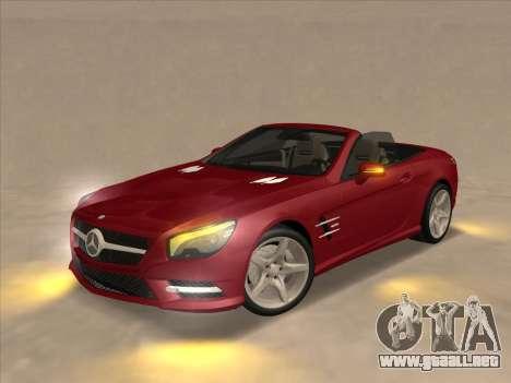 Mercedes-Benz SL500 2013 (ImVehFt v2.02) para la visión correcta GTA San Andreas