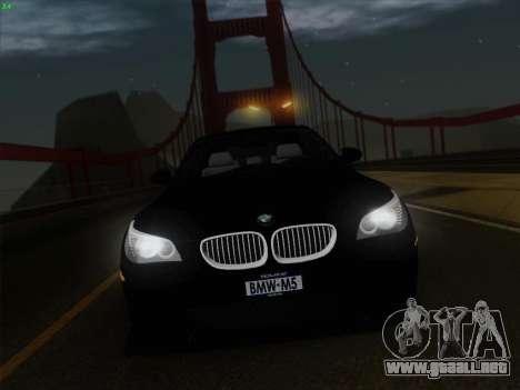 BMW M5 Hamann para GTA San Andreas interior