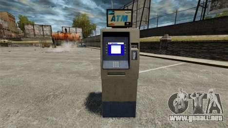 Banco de América ATM v 2.0 para GTA 4 segundos de pantalla