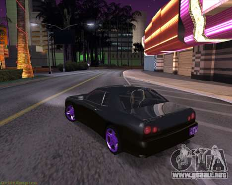 Elegy by Xtr.dor v2 para GTA San Andreas vista posterior izquierda