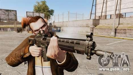 Rifle de asalto SIG 551 para GTA 4 tercera pantalla