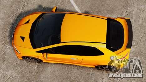 Honda Civic Type-R (FN2) para GTA 4 visión correcta