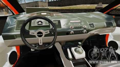 Honda Civic Type-R (Mugen RR) para GTA 4 vista hacia atrás