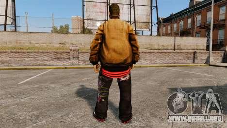 Domdrug PED de TBoGT para GTA 4 sexto de pantalla