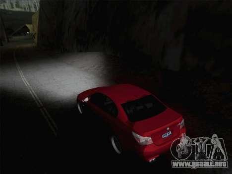 Faros de media y alta haz para GTA San Andreas segunda pantalla