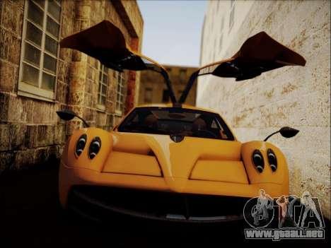 Pagani Huayra para GTA San Andreas left