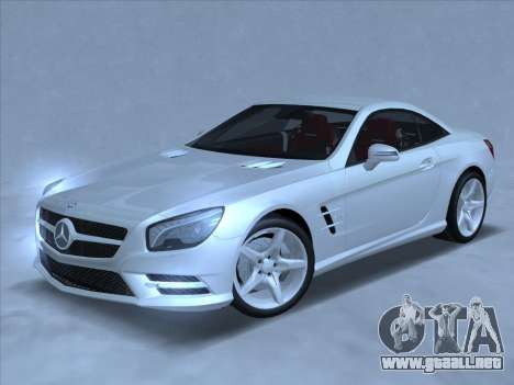 Mercedes-Benz SL500 2013 (ImVehFt v2.02) para GTA San Andreas left