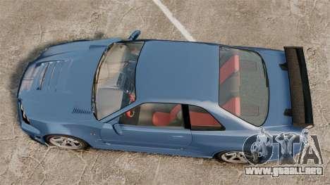 Nissan Skyline R34 GT-R Z-tune para GTA 4 visión correcta