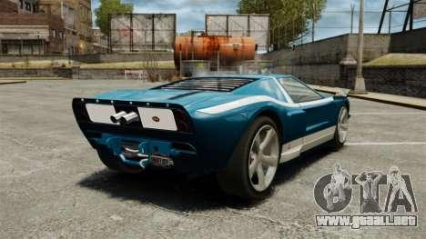 Nuevo Bullet GT para GTA 4 Vista posterior izquierda