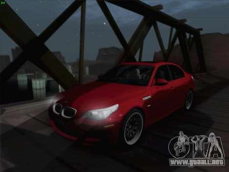 BMW M5 Hamann para la vista superior GTA San Andreas