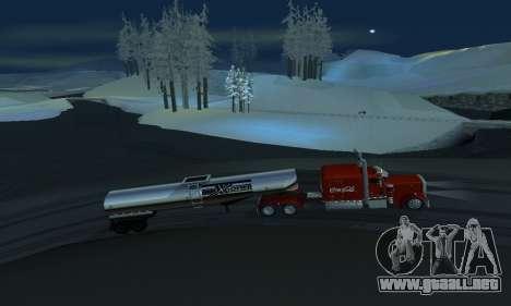 Invierno mod para SA: MP para GTA San Andreas