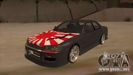 Nissan Skyline ER34 Street Style para GTA San Andreas