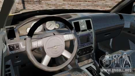 Chrysler 300C Pimped para GTA 4 vista hacia atrás