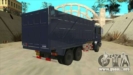 Shacman F2000 para la visión correcta GTA San Andreas