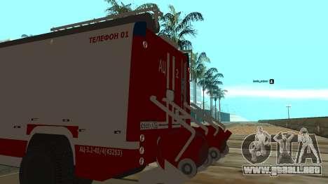 5245 ramaz MOE para GTA San Andreas vista posterior izquierda