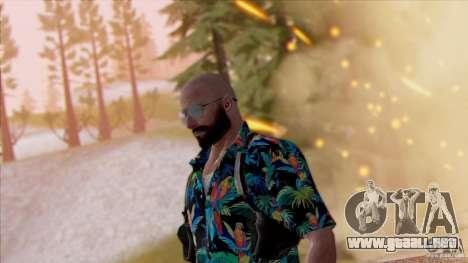 Max Payne 3 para GTA San Andreas tercera pantalla