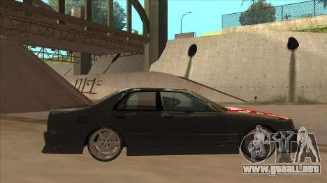 Nissan Skyline ER34 Street Style para GTA San Andreas vista posterior izquierda