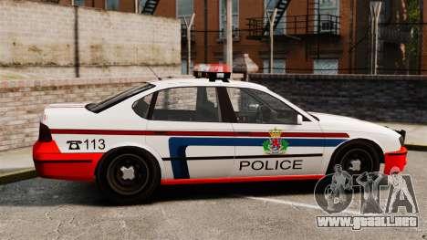 Policía de Luxemburgo para GTA 4 left