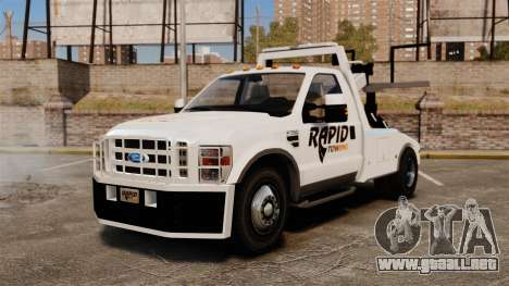 Ford F-550 Towtruck Rapid Towing [ELS] para GTA 4