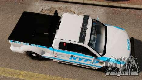 Ford F-150 v3.3 NYPD [ELS & EPM] v3 para GTA 4 visión correcta