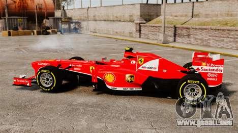 Ferrari F138 2013 v5 para GTA 4 left