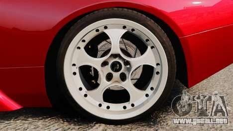 Lamborghini Murcielago 2005 para GTA 4 vista hacia atrás