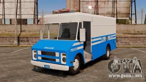 Chevrolet Step-Van 1985 LCPD para GTA 4