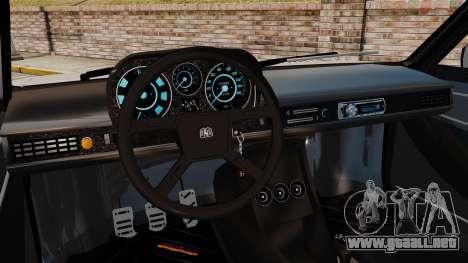 Volkswagen Passat TS 1981 para GTA 4 vista interior