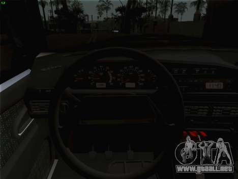 ВАЗ 2114 para vista inferior GTA San Andreas